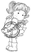 HELLO LITTLE BUTTERFLY Rubber Stamp Butterfly Dreams Collection from Magnolia