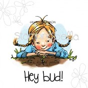 New! HEY BUD Rubber Stamp by Mo Manning from Stamping Bella