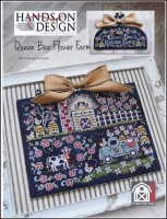 Chalk On the Farm Series - QUEEN BEE FLOWER FARM Cross Stitch Pattern from Hands On Design