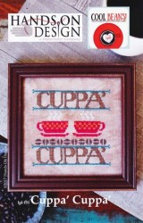 Cool Beans Series - CUPPA' CUPPA' Cross Stitch Pattern by Hands on Design