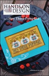 HEY THERE PUMPKIN Cross Stitch Pattern by Hands on Design