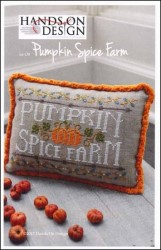 PUMPKIN SPICE FARM Cross Stitch Pattern by Hands on Design
