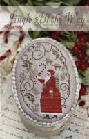 JINGLE ALL THE WAY Cross Stitch Pattern by With Thy Needle and Thread
