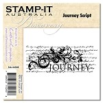 JOURNEY SCRIPT Stamp It Australia Discovery Collection from Crafter's Companion