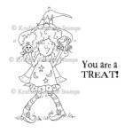 YOU ARE A TREAT! Rubber Stamp by Cheryl Alger from Kraftin Kimmie Stamps