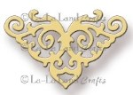 FILIGREE CORNER DIE from La La Land Crafts