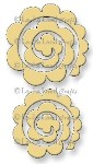 ROLLED ROSE  SET SMALL AND MEDIUM from La La Land Crafts