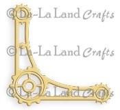 STEAMPUNK CORNER DIE from La La Land Crafts