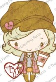 LATTE ANYA Rubber Stamp Anya & Ian Collection from The Greeting Farm