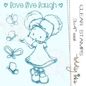LAUGH Clear Stamp Set from Tiddly Inks