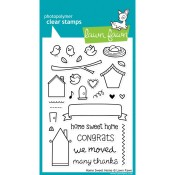 HOME SWEET HOME Clear Stamp Set from Lawn Fawn