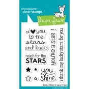 LUCKY STARS Clear Stamp from Lawn Fawn Stamps