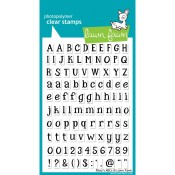 RILEY'S ABCs Clear Stamp Set from Lawn Fawn