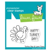 TURKEY DAY Clear Stamp Set from Lawn Fawn