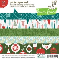 FA-LA-LA 6x6 Paper Pack from Lawn Fawn