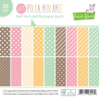 POLKA MON AMIE 6x6 Paper Pack from Lawn Fawn