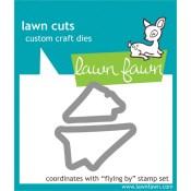 FLYING BY Lawn Cuts Custom Craft Dies from Lawn Fawn