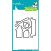 HOME SWEET HOME Lawn Cuts Custom Craft Dies from Lawn Fawn