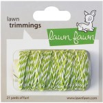 LIME SINGLE CORD Hemp Twine from Lawn Fawn