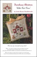 Farmhouse Christmas Series - LITTLE RED BARN Cross Stitch Pattern by Little House Needleworks