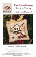 Farmhouse Christmas Series - GRANDPA'S PICK-UP Cross Stitch Pattern by Little House Needleworks
