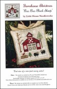 Farmhouse Christmas Series - BAA BAA BLACK SHEEP Cross Stitch Pattern by Little House Needlearts