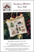 Farmhouse Christmas Series - FARM FOLK Cross Stitch Pattern by Little House Needlearts
