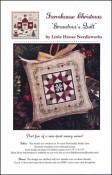 Farmhouse Christmas Series - GRANDMA'S QUILT Cross Stitch Pattern by Little House Needleworks