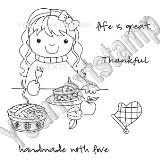 LIFE IS GREAT Rubber Stamp Set Fiona Designs Collection from Your Next Stamp