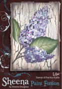 LILAC Stamp Set Sheena Douglass Paint Fushion Collection from Crafter's Companion
