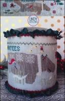 MERRY MANATEES Cross Stitch Pattern by Lindy Stitches