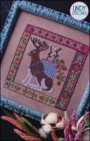 JACKALOPIAN TAPESTRY Cross Stitch Pattern by Lindy Stitches