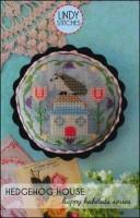 Happy Habitats Series HEDGEHOG HOUSE Cross Stitch Pattern by Lindy Stitches
