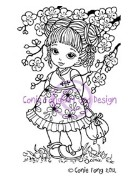 LITTLE BLOSSOM Rubber Stamp Conie Fong Collection from Sweet Pea Stamps