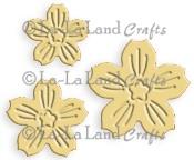 CHERRY BLOSSOM FLOWERS DIE from La La Land Crafts