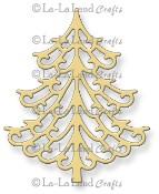 **REORDER** FANCY CHRISTMAS TREE DIE from La La Land