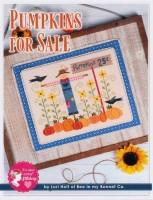 PUMPKINS FOR SALE Cross Stitch Pattern by Lori Holt from It's Sew Emma