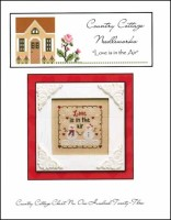 LOVE IS IN THE AIR Cross Stitch Chart from Country Cottage Needleworks