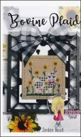 BOVINE PLAID Counted Cross Stitch Pattern by Little Stitch Girl