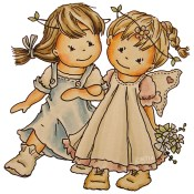 **PREORDER** MA & RIANNE Rubber Stamp Little Winged Friends Collection from Bildmalarna