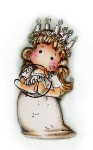 SANTA LUCIA Rubber Stamp Adopt A Stamp Special Series Collection from Magnolia
