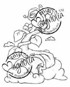 BEANSTALK Rubber Stamp Princes & Princesses Collection from Magnolia