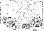NATIVITY BACKGROUND Rubber Stamp Nativity Collection from Magnolia