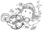 EXPLORE TILDA Rubber Stamp Sweet Rainbow Collection from Magnolia