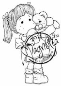 TEDDYBEAR LOVE Rubber Stamp Princes & Princesses Collection from Magnolia