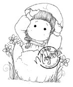 HELLO! TILDA Rubber Stamp Hoppy Easter Collection from Magnolia