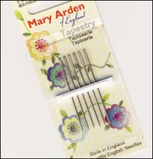 Mary Arden SIZE 24 Tapestry Needles Package of 6