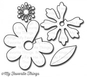 DIE-NAMICS PRIMA DONNA PETALS DIE SET from My Favorite Things MFT Stamps