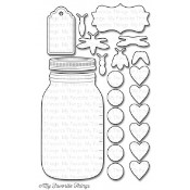 **REORDER** DIE-NAMICS MASON JAR DIE SET from My Favorite Things MFT Stamps