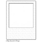 DIE-NAMICS POLAROID COVER-UP Die from My Favorite Things MFT Stamps